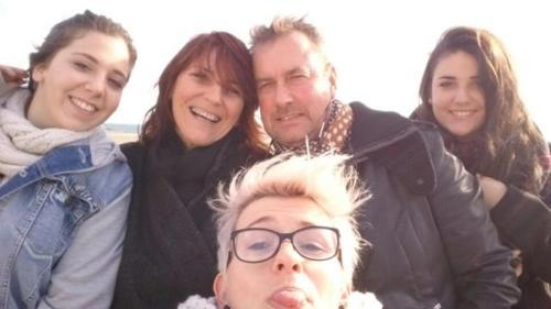 Carole, Alain et les enfants ..