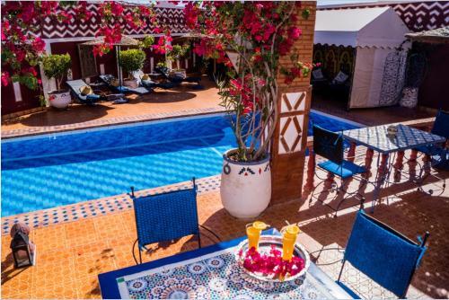La piscine du Riad Le Petit Riad