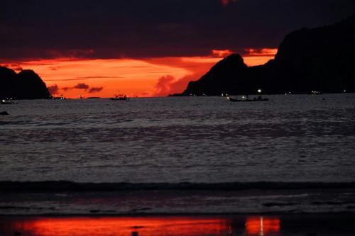 RED ISLAND SUNSET
