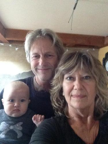 Erik, Michelle et notre petit enfant