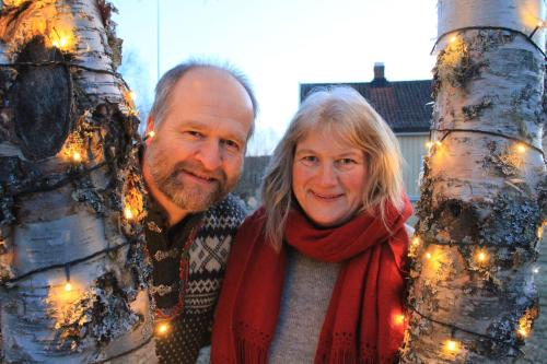 Lars Harald Weydahl og Marianne Konow