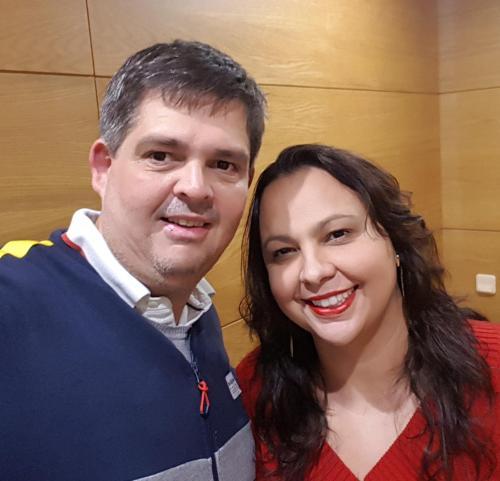 Leonardo e Carla Monteiro