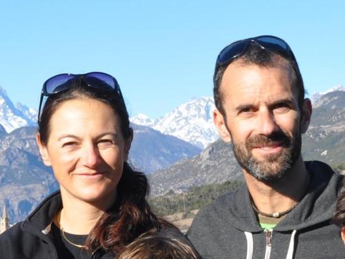 Sandie et Cédric