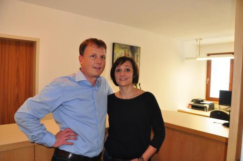 Gerwin und Michaela Bereuter