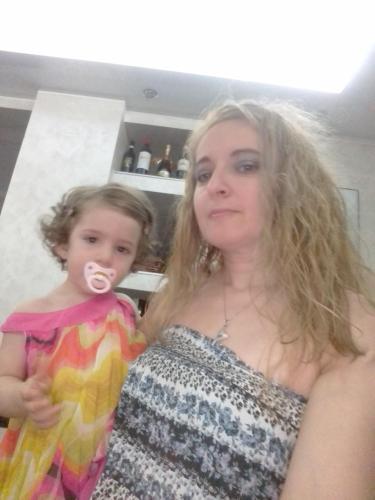 Sono io Mako con mia figlia