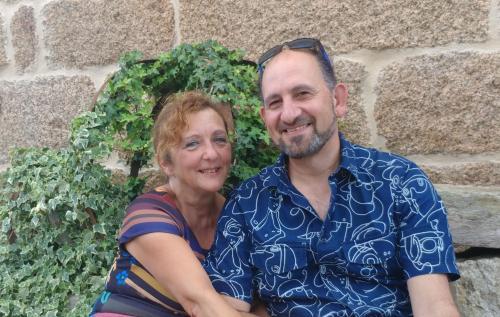 Violeta Vila y Fidel Pampillon
