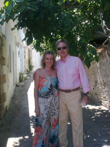 Manthos and Julie Kapsetakis