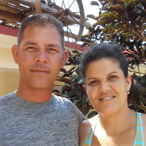 Yosbel y Sandra