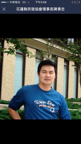 民宿主人陳先生