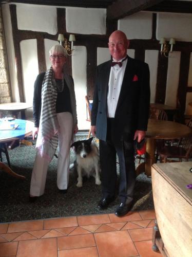 Your Hosts Karen and Paul (and Bertie)