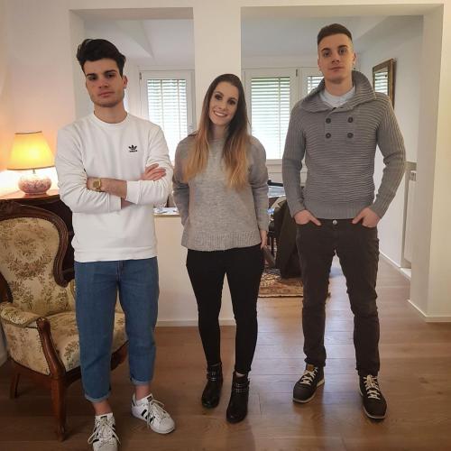 Federico, Silvia, Andrea