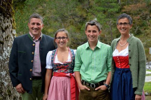 Ihre Gastgeberfamilie Metzler
