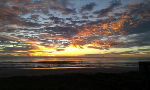 Sunrise at San Simeon