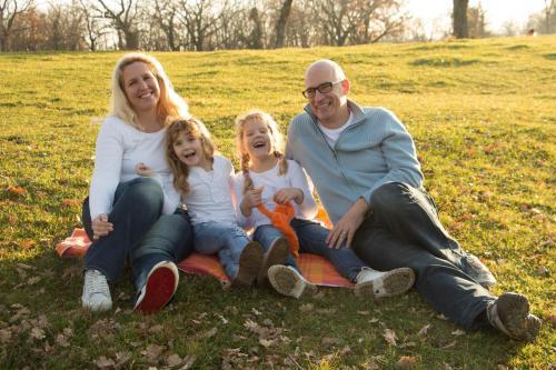 Viktorija and her family