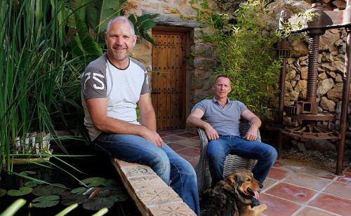 Richard Steenblik and Willem Pieffers the owners