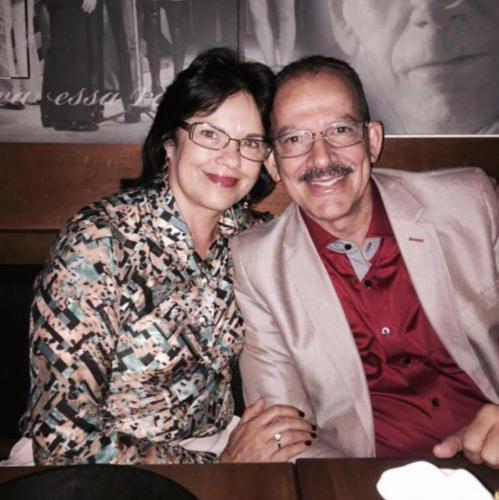 Carlos Henrique e Leda