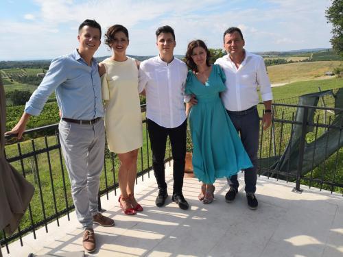 Nino, Lidija, Sandra, Denis