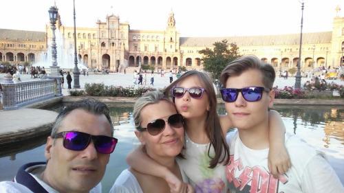 Joel, Manuel, Rosa, Yaiza