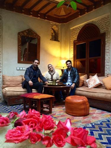 L'équipe du Riad Maïpa