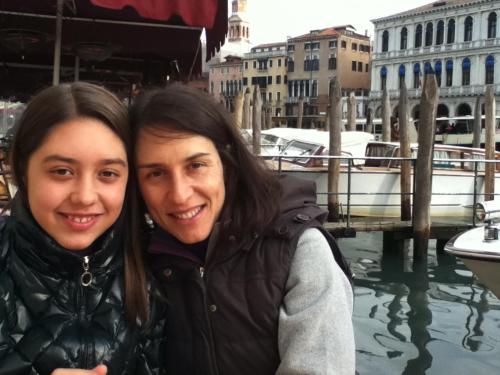 sandra angelini with her daughter