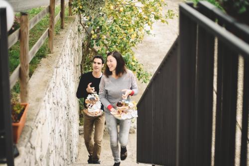 Sarah e Corrado