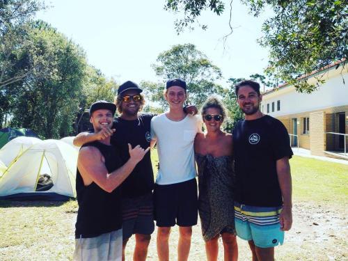 Josh, Matt, James and Sheree