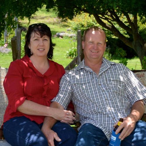 Maxine and Graham - owners