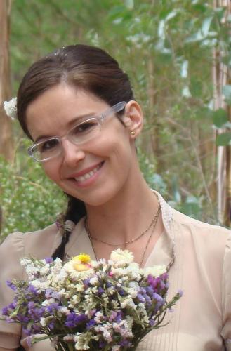 Catarina Andrade,a pessoa que vai receber os hóspedes.