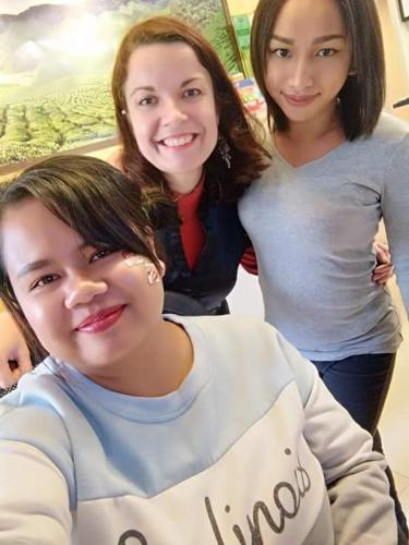 Liana, Val & Dyra @ Fathers Guesthouse Resort