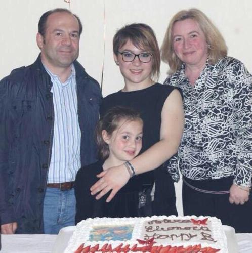 Giuliana e la sua famiglia