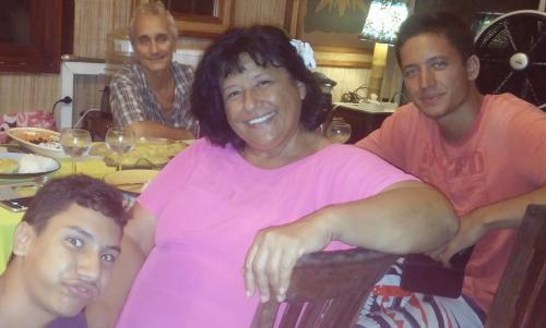 La famille de Vahaui Paradis
