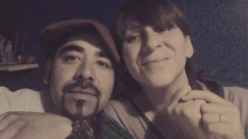 Patricia y César