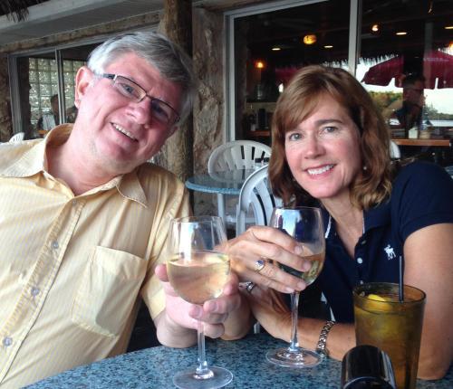 Julie and David