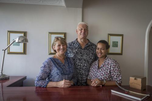 Mike, Sally and Natalie