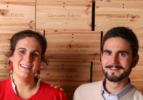 Camilla e Giovanni Ederle