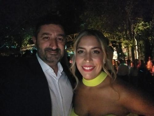 M. Belén y Carlos