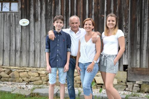 Familie Heidelinde und Martin Gnant
