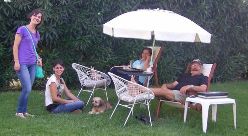 Manolis, Gina, Maria, Ilianna