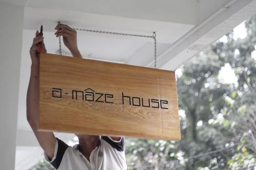 a-mâze house