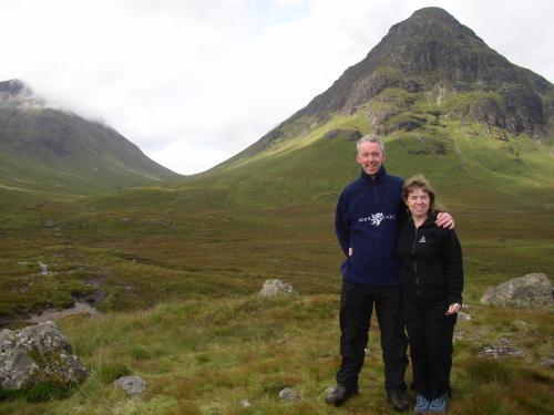 Jackie and Iain McDonagh