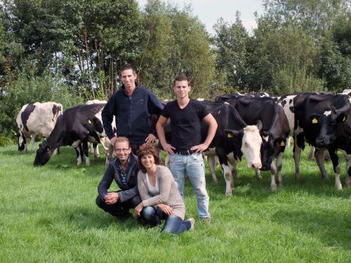 4th & 5th generation, Sons Sander & Rene, parents Rien & Teuni