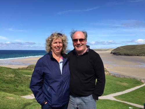Claire and Gary Szreider