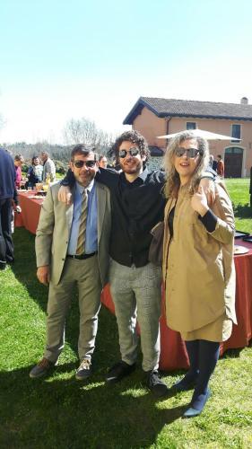 Francesco, Donatella e Umberto