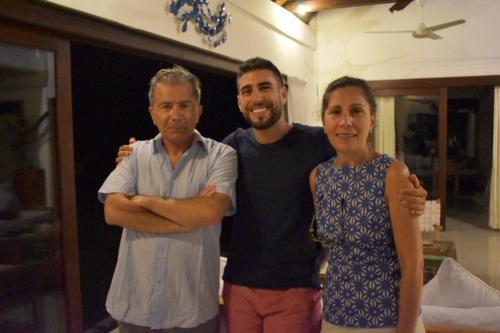 Osvaldo, Gabriela & Pablo