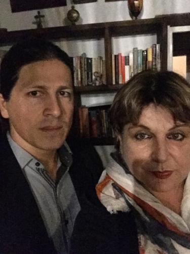 Maria Cecilia Cadavid y Juan Fernando Zapata