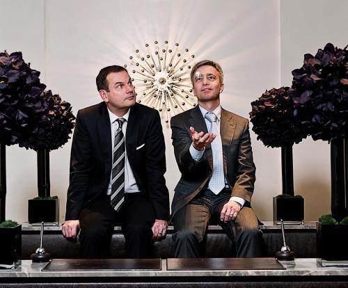 Christian Andresen und Lutz Hesse