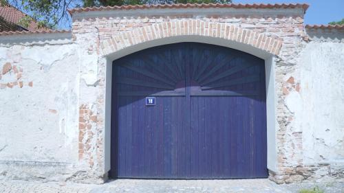 Modrá vrata