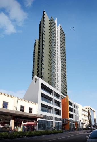 B1 Tower is a landmark residential development in the heart of Parramatta's CBD