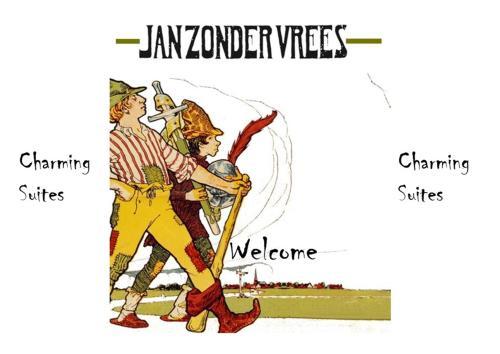 Charming Suites Jan Zonder Vrees  Antwerp center Grote Markt