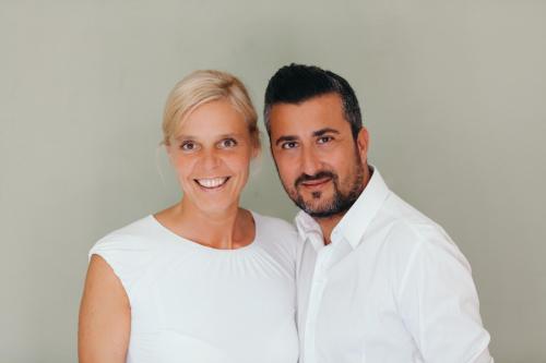 Ruth Langendorf und Mauro Milano